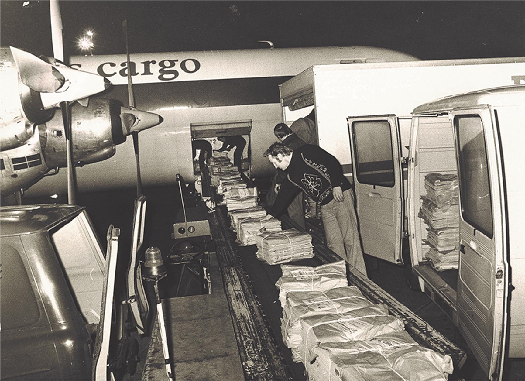 The beginning of Menzies air cargo