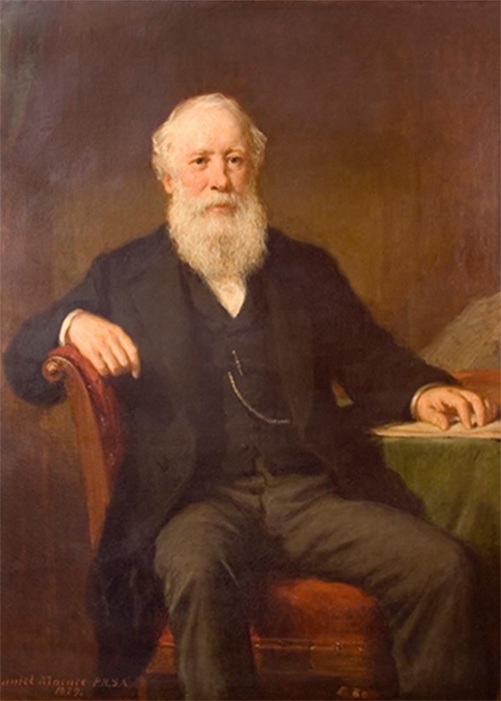 John Menzies portrait