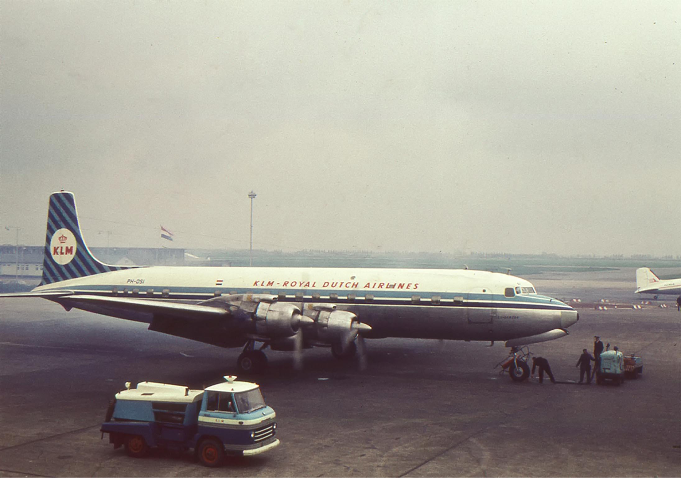KLM Royal Dutch Airlines plane