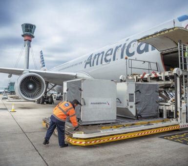 American Airlines - Menzies Ground Crew