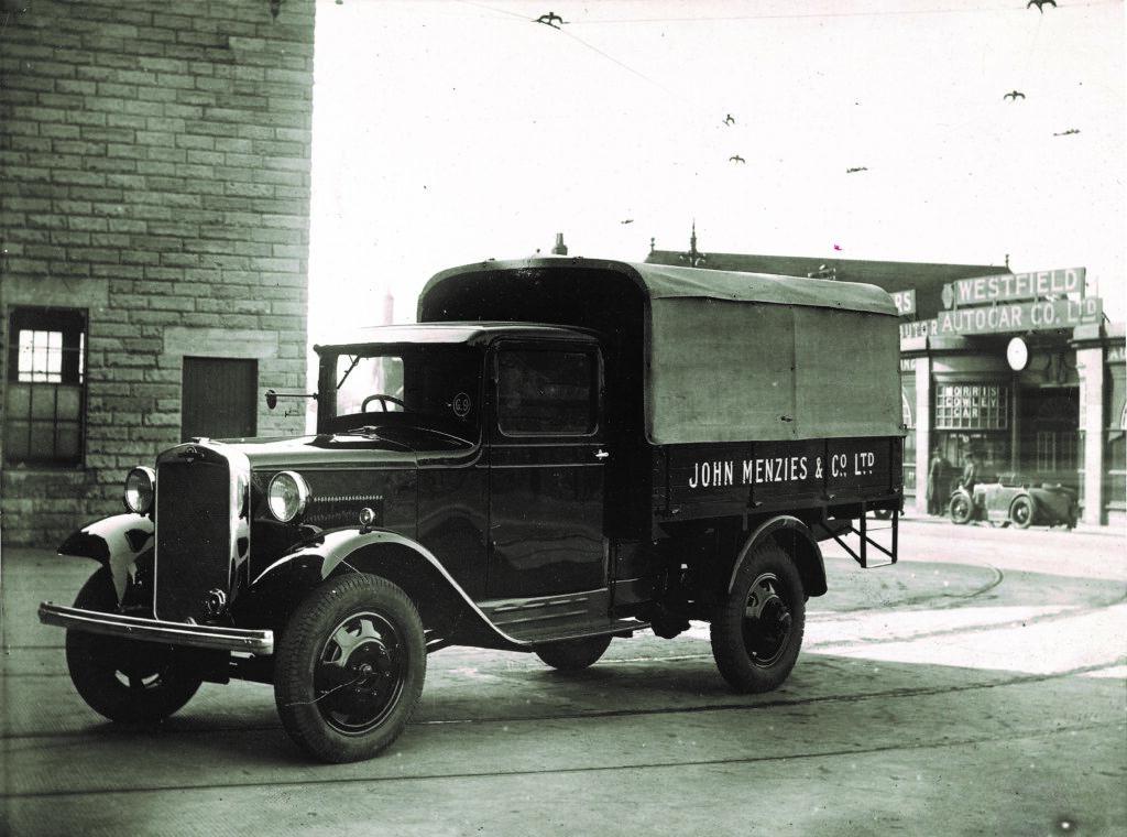 John Menzies Vintage Truck