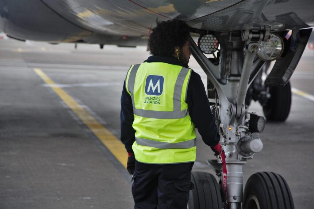 Menzies Aviation Ground Crew